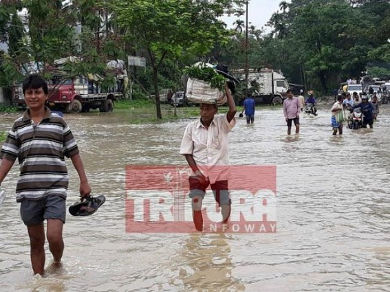 Tripura Flood : 4 deaths in last 2 days