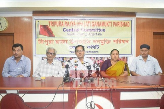 GMP opts for 'Liberty, Equality, Fraternity, Overall Development' of Tribals in Tripura