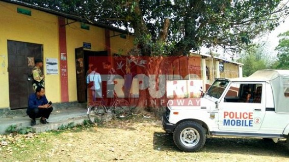 Tripura Gramin Bank looted : Strong room saved, expensive machines robbed