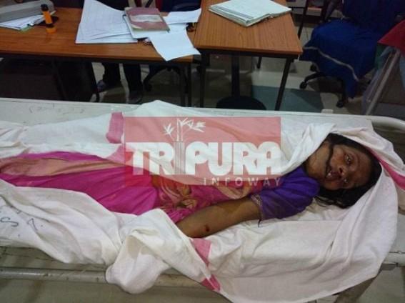 Bishalgarh Police hides information to media about unnatural death, 1 more injured