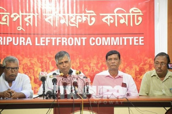 JUMLA Party's Tripura Panchayat By-Election Violence, Organized terror : Left Party delegates met State Election Commission, demand to 'defer election'