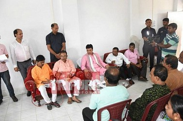 CM held party meeting at own constituency. TIWN  Pic Aug 19