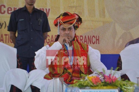 'No need to go to Africa's (?) Amazon river, under BJP Govt Chabimura will beat Amazon' : Tripura CM's extravagant promises, poor knowledge entertain public on Chaitra Sankranti