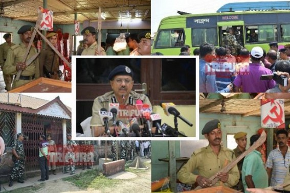 'Nagerjala weapon-raid was based on secret-information, more raids will be done in coming days' : DGP