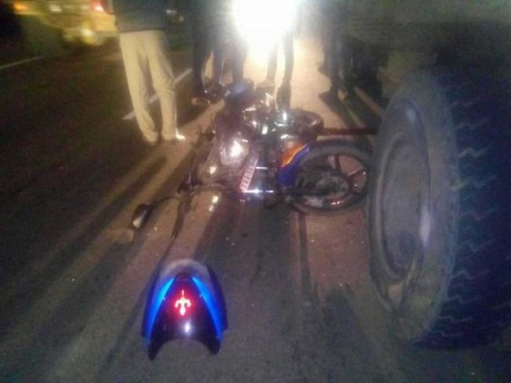Man dies in road mishap