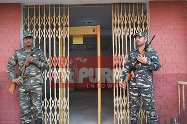 Strong rooms kept under heavy security. TIWN Pic Feb 19