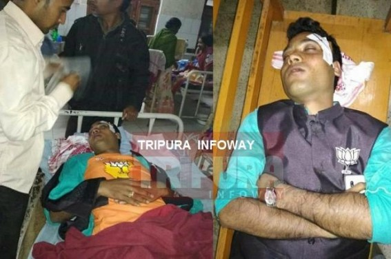 BJP activist injured : Party accuses CPI-M