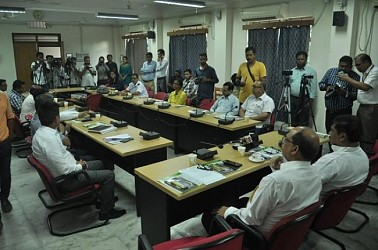Tripura Govt signs MoU with ONGC. TIWN Pic Aug 20