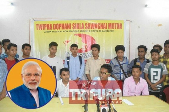 Separatist Demands increasing under BJP era  : New separatist group emerges in Tripura demanding NRC process must start from 1949, not 1971