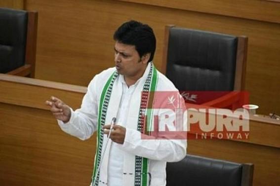 Biplab Deb follows Manik Sarkar's 'Dictator' style to silence Public, Media  : Internet goes shutdown in Tripura for 48 hours