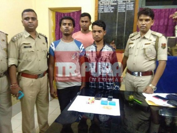 2 arrested with yaba tablets and heroin