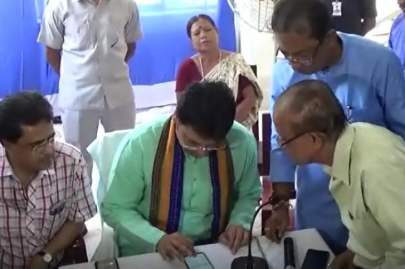 'BJP does not use Secularism Tablet like other parties' : Biplab Deb