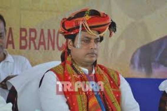 Police Firing : Indigenous people calls shutdown on Friday in ADC-Tripura demanding Biplab Deb's resignation