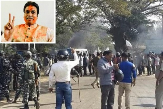 Police Firing : 12 hours 'bandh' observed in Tripura ADC demanding Biplab Deb's resignation, withdrawal of fabricated cases against Tiprasa agitators, Judicial inquiry