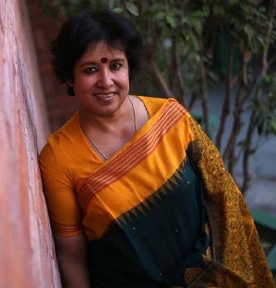 Taslima Nasrin launches Hindi edition of 'Besharam'