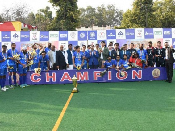 Railways win men's national hockey title