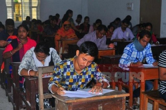 Tripura TET exam in 'abeyance' for uncertain period of time : February 24's TET exam cancelled