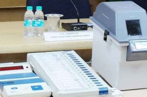 Congress alleges VVPAT 'ghotala' in Tripura