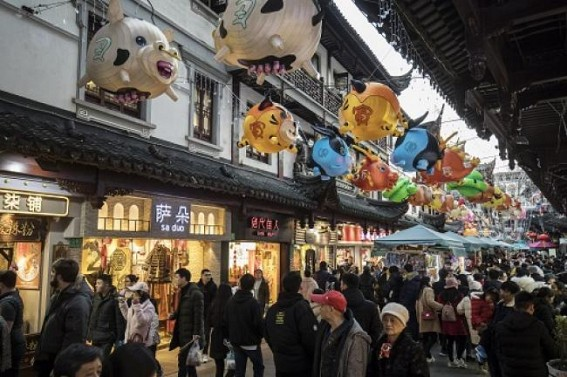 Chinese New Year retail sales up by 8.5%