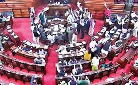 Rajya Sabha adjourned for whole day without Citizenship Bill being tabled, tension across Northeast