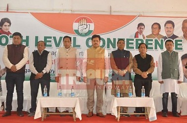 Congress begins booth level conference for Lok Sabha Election. TIWN Pic Feb 17