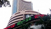 Sensex up 130 points, financials gain