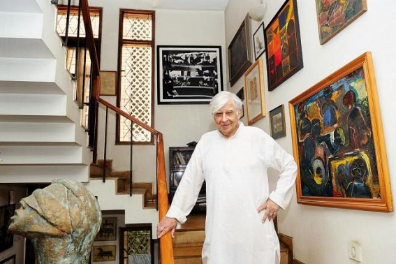 Works of Raza, Krishen Khanna, their exchanged letters on display