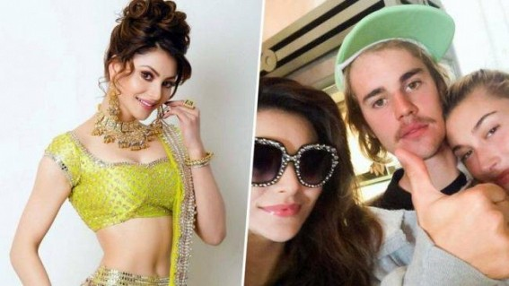 Urvashi Rautela's fan moment with Justin Bieber
