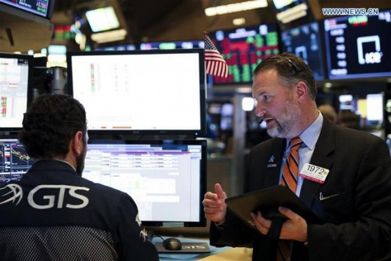 US stocks close mixed amid Fed announcement