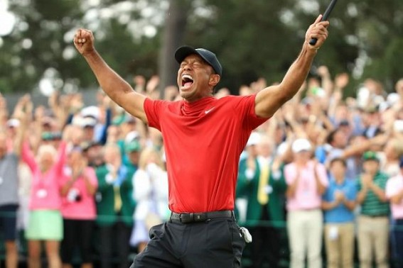 Tiger Woods bags fifth Masters at Augusta