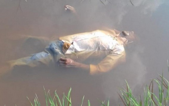 Dead body found at Badharghat, erupts tension