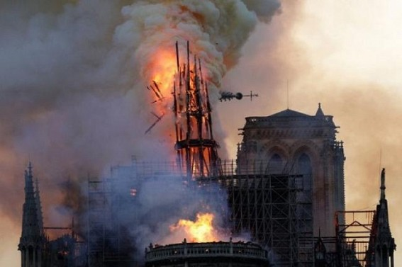 Notre Dame fire under control, main structure saved