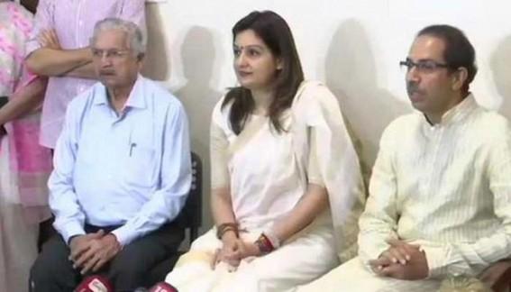 Priyanka Chaturvedi joins Shiv Sena, slams Congress