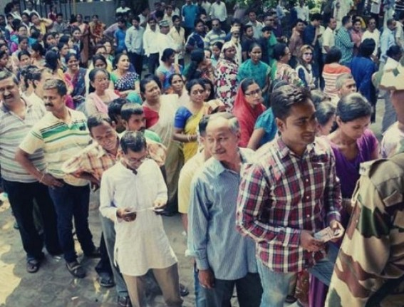 Assam votes in 3rd phase Lok Sabha polls