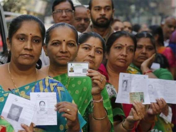 60% polling in Karnataka till 5 p.m