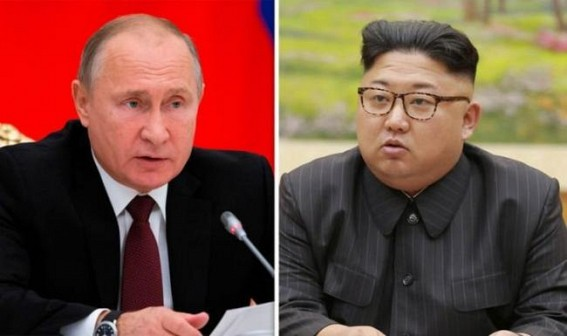 Kim Jong-un arrives in Russia to meet Putin