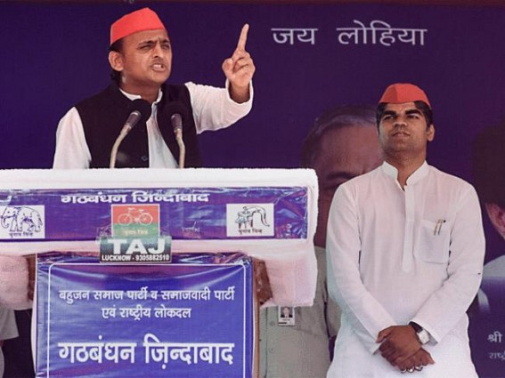 BJP creating divisions among people, says Akhilesh