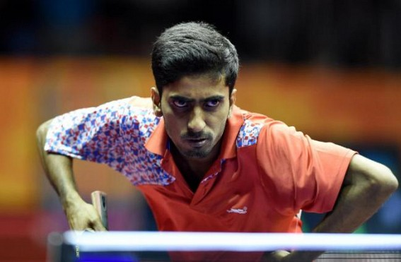 Sathiyan lone Indian survivor at ITTF World C'ship