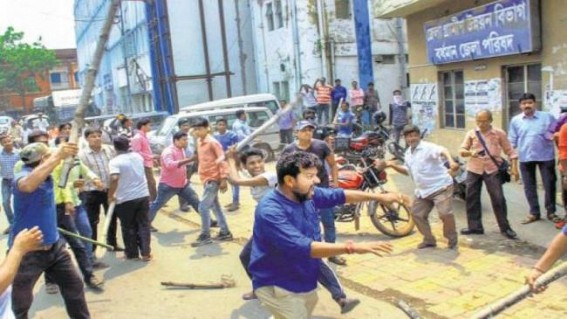 Voting stalled in Bengal booth following violence