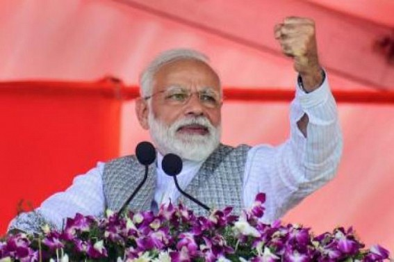 40 of Mamata's MLAs in touch with me: Modi