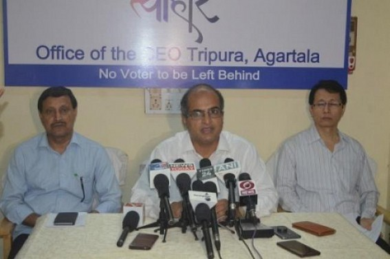 Preparation for Vote Counting on peak in Tripura
