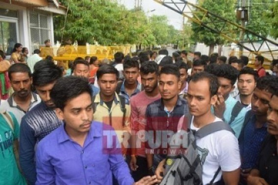 JUMLA Era's Job draught hits Tripura : 2018-19 Financial Year went without new recruitment, BJP's 50,000 Govt job in 1 Year turns Biplab's mass-cheating