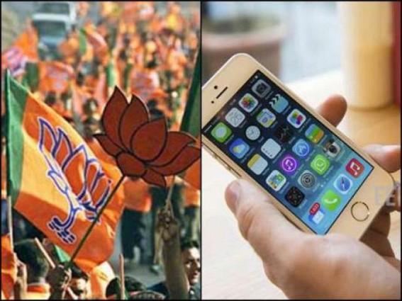 BJP smart-phones distribution pre-poll promise turns a 'Joke'