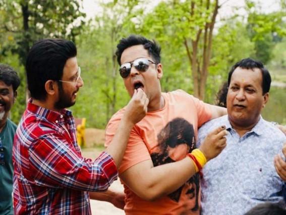 Sharman Joshi, Ranjha Vikram Singh, Bidita Bag kickstart shooting of Fauji Calling in Ranchi