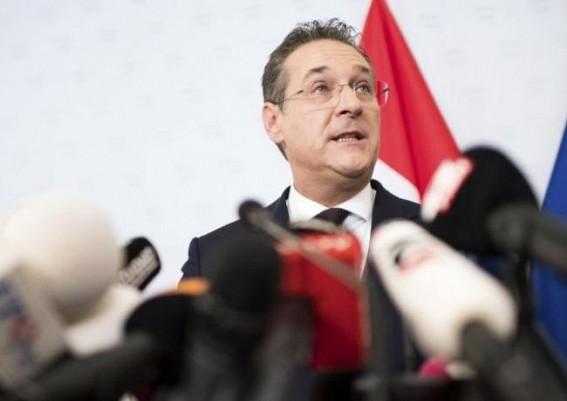 Austrian vice chancellor resigns amid video scandal