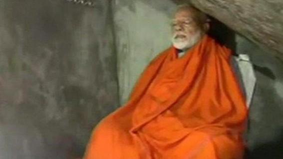 India : Modi Meditates in Cave