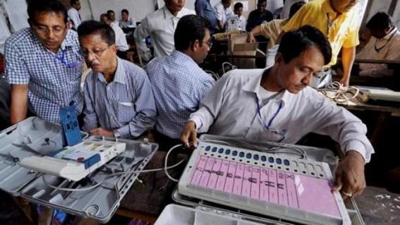 Counting of votes involves guarding EVMs, tallying VVPATs and postal ballots, sealing machines