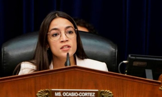 Alexandria Ocasio-Cortez says she'd be 'hard pressed' to back Biden in primary