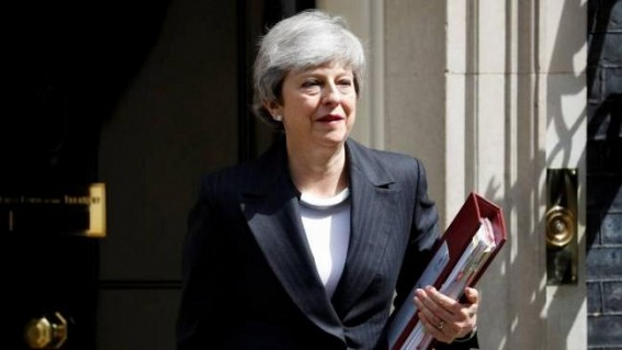 British PM Theresa May expected to announce on Friday that she will quit: The Times