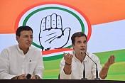 Rahul Gandhi congratulates Modi, Smriti Irani